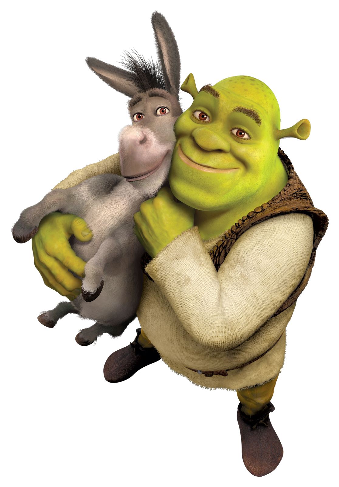 Png . Donkey clipart shrek character