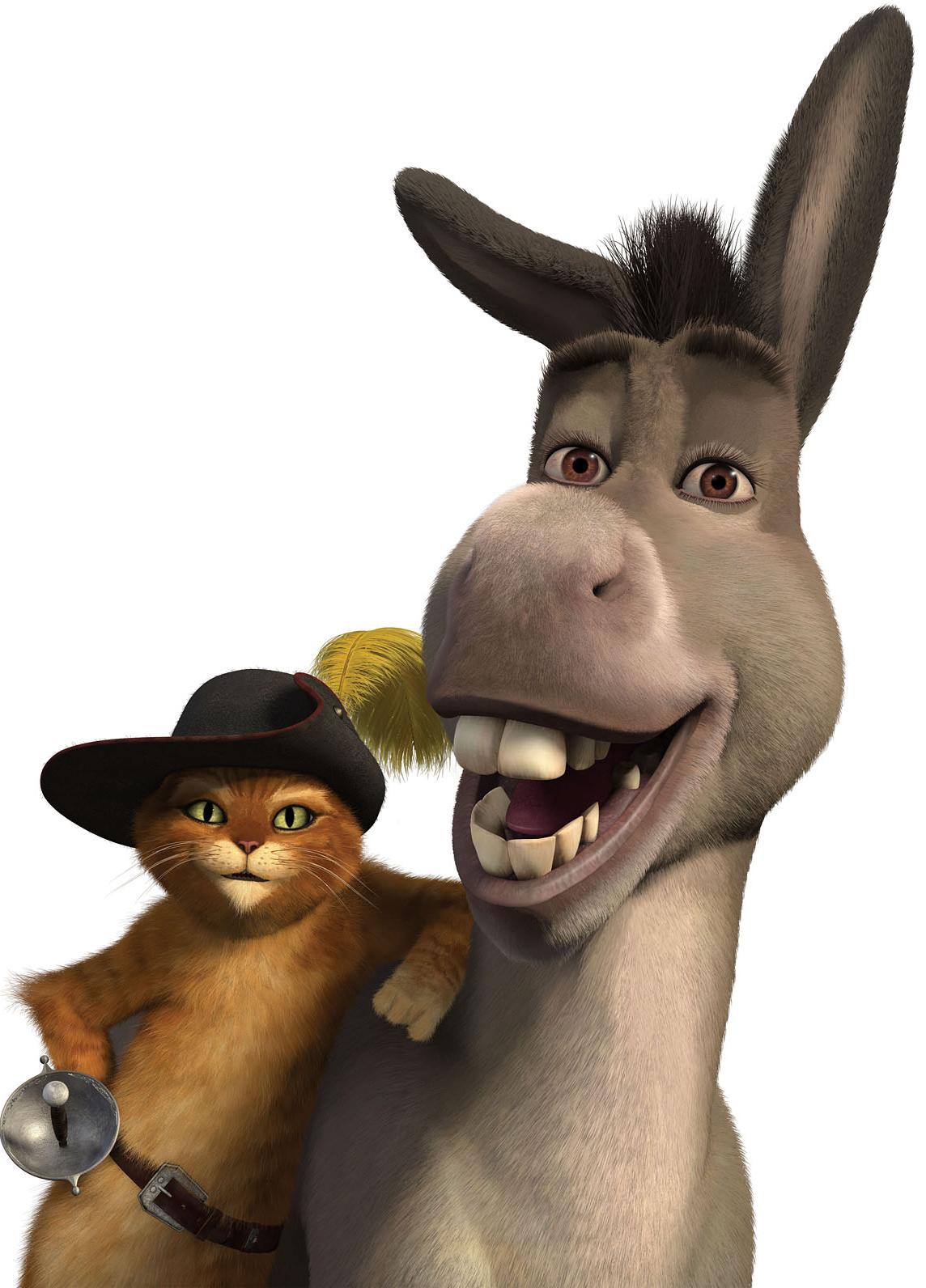 Donkey clipart shrek character. Crazywidow info