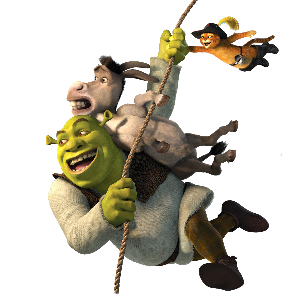 Puss in boots princess. Donkey clipart shrek character