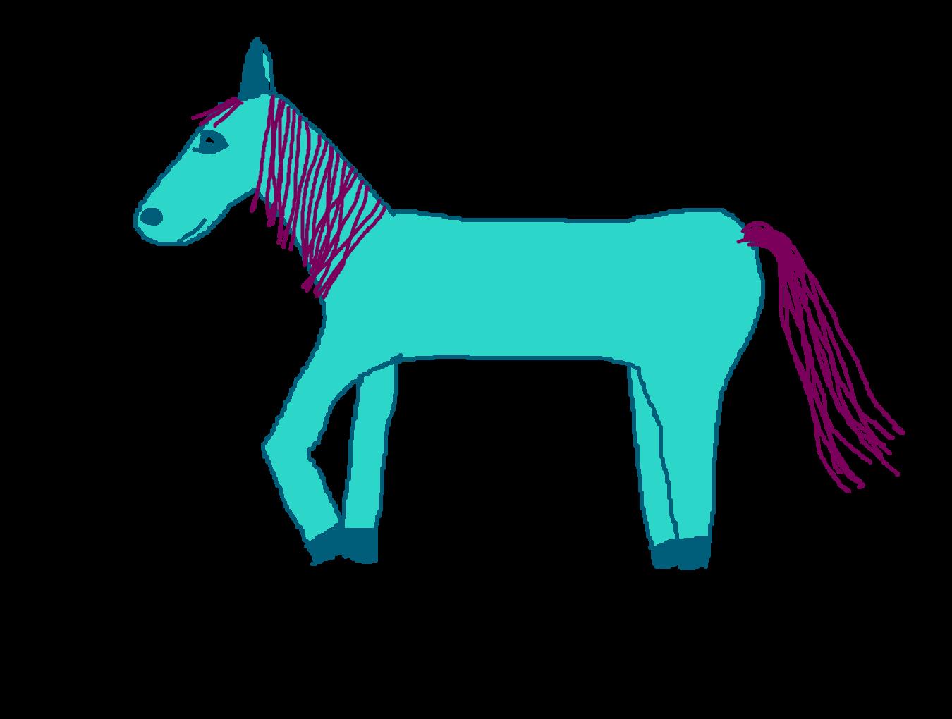 Forum draw a deviantart. Donkey clipart tiny horse