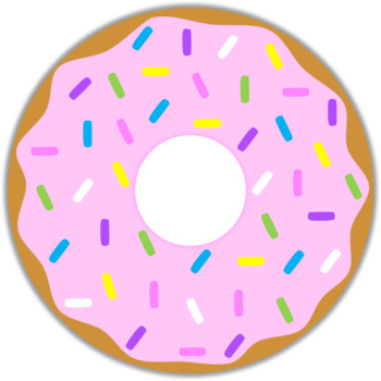 . Donut clipart