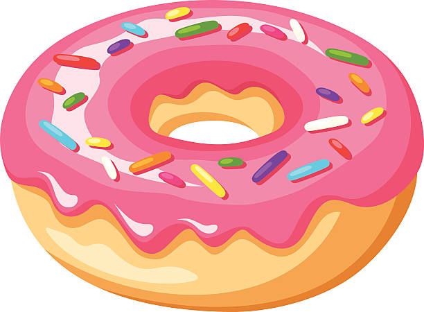 collection of sprinkle. Doughnut clipart