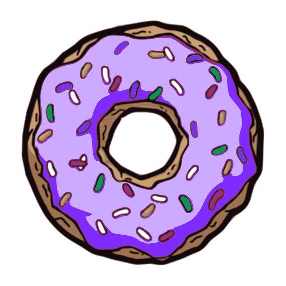 Donut clip art pastry. Doughnut clipart food
