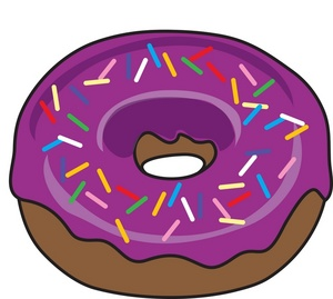 Donut clipart. Free cliparts download clip