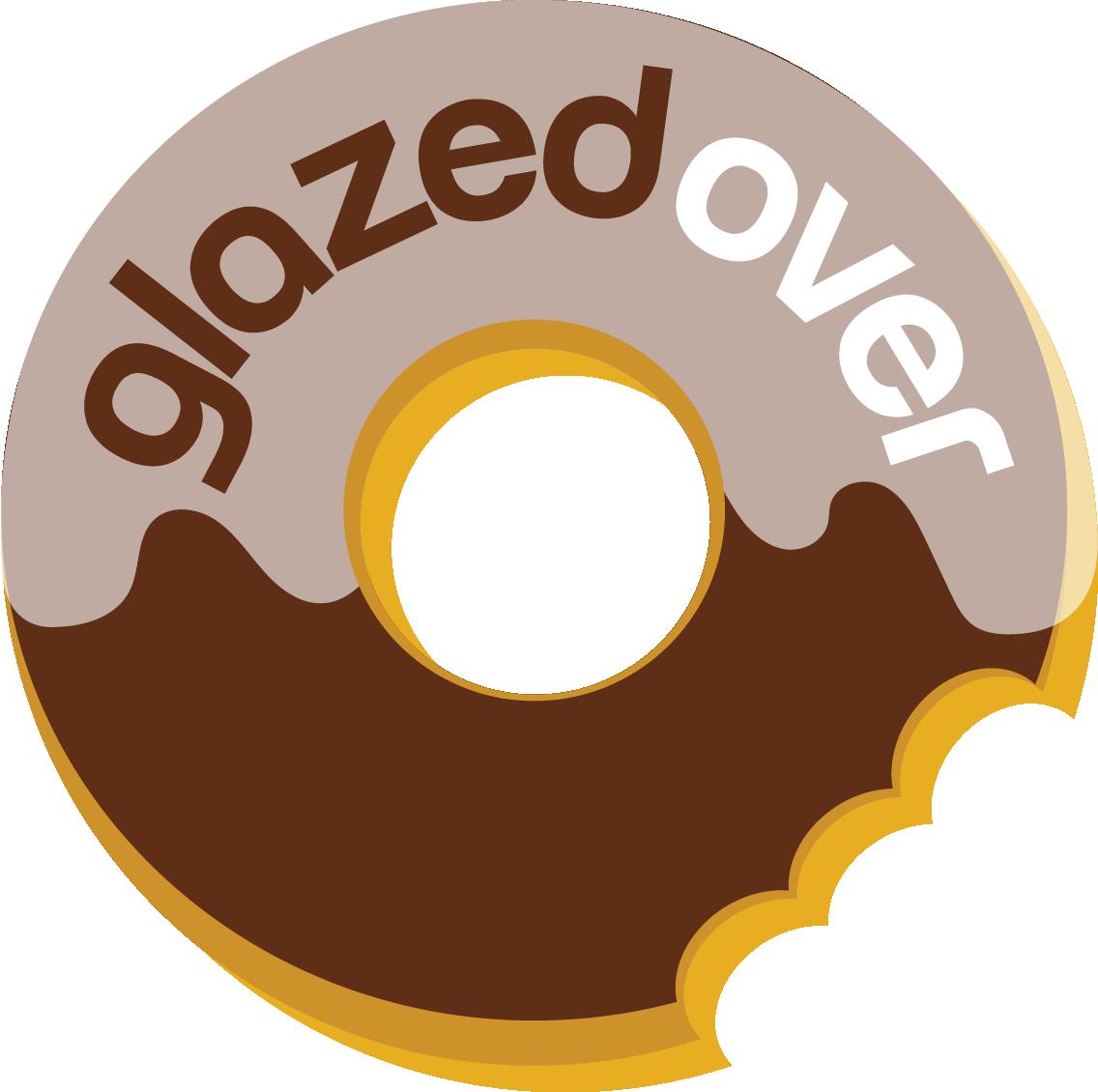 Glazedover . Doughnut clipart cream filled donut
