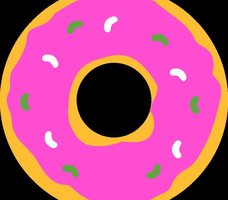 Donut clipart big donut. Understanding the medicare hole