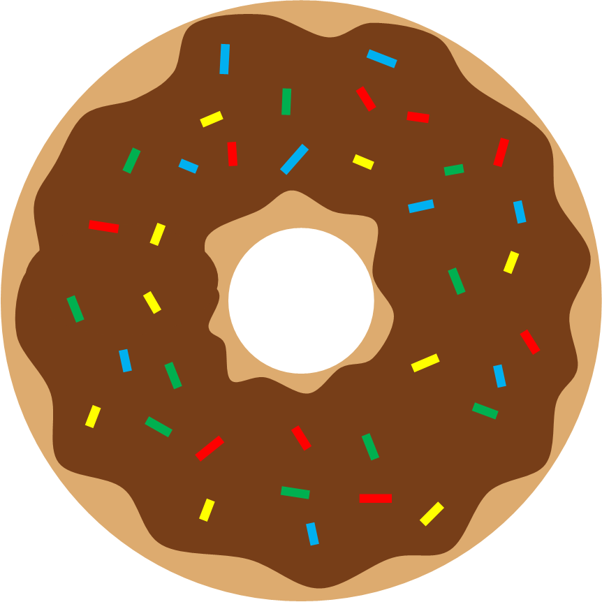 Literary hoots donuts storytime. Donut clipart big donut