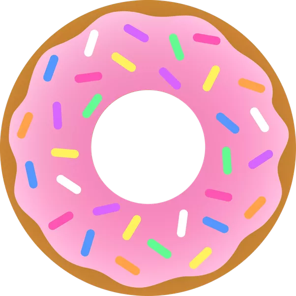 If you were to. Donuts clipart green