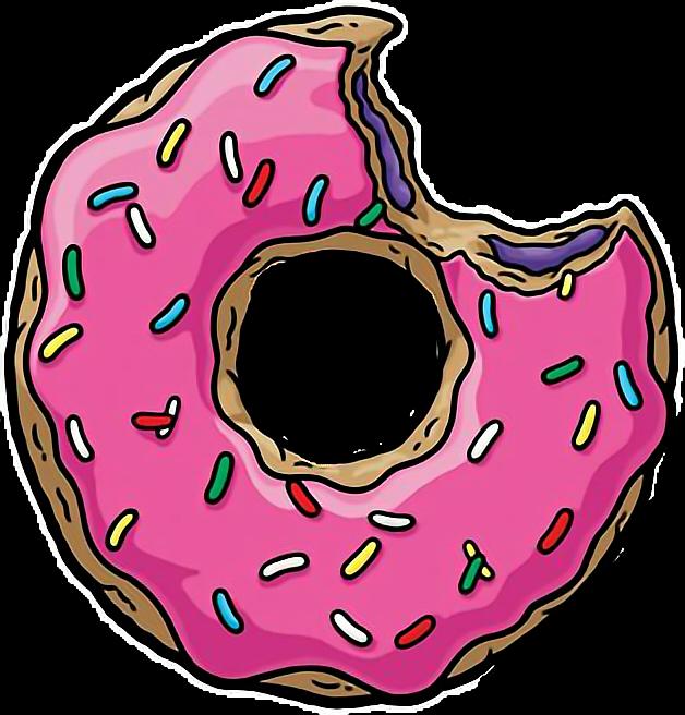 Doughnut clipart bite. Donut sprinkles yummy enjoy