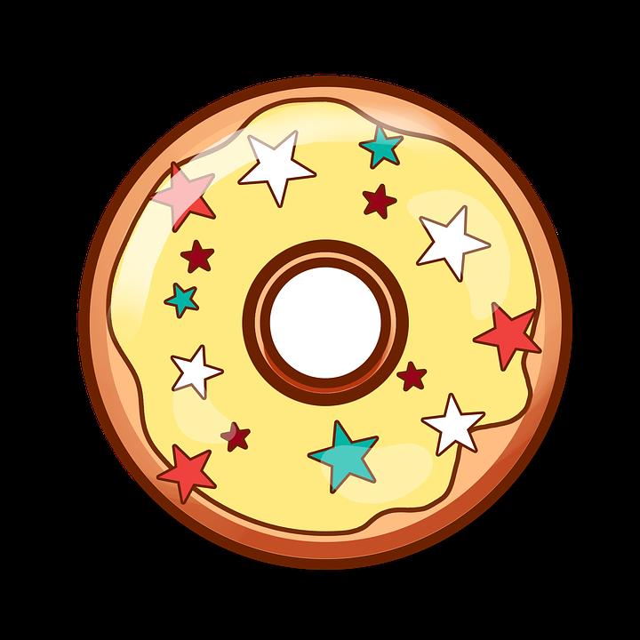 Donut clipart bitten donut.  doughnut huge freebie