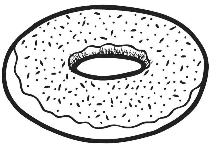 Donut clipart black and white. Station