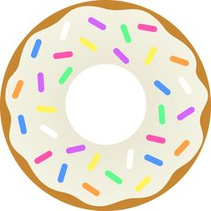 Donut clipart blue. Clip art library