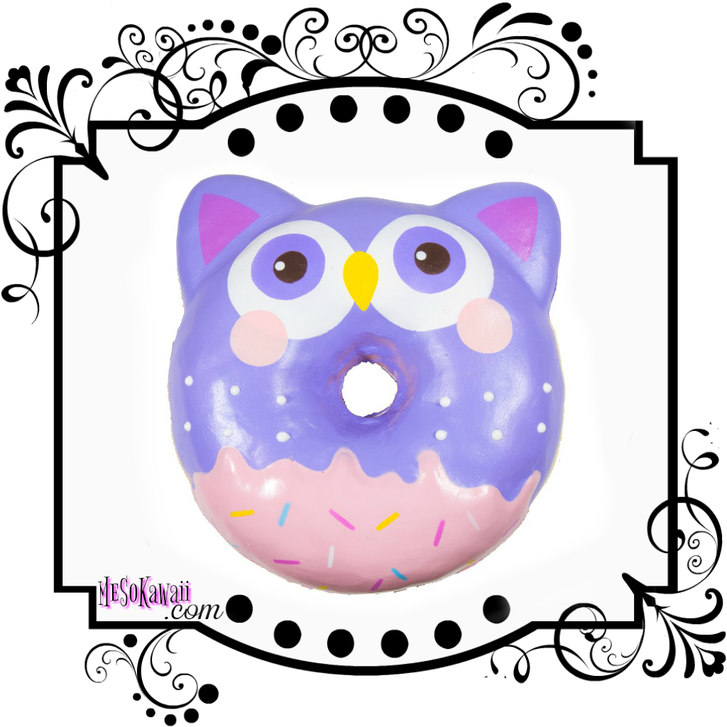 Puni maru animal jumbo. Donut clipart cart