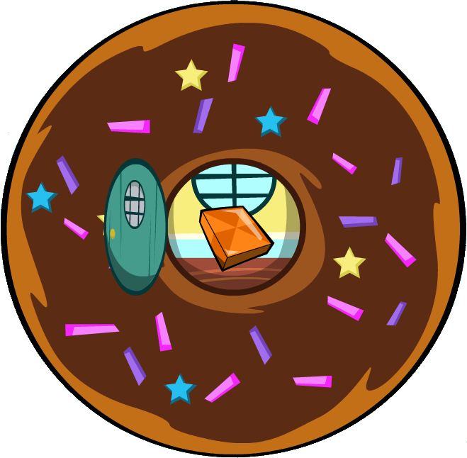 Image house png mixels. Donut clipart circle