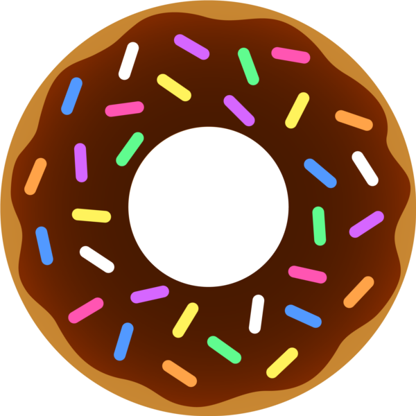 Donut png . Doughnut clipart transparent background