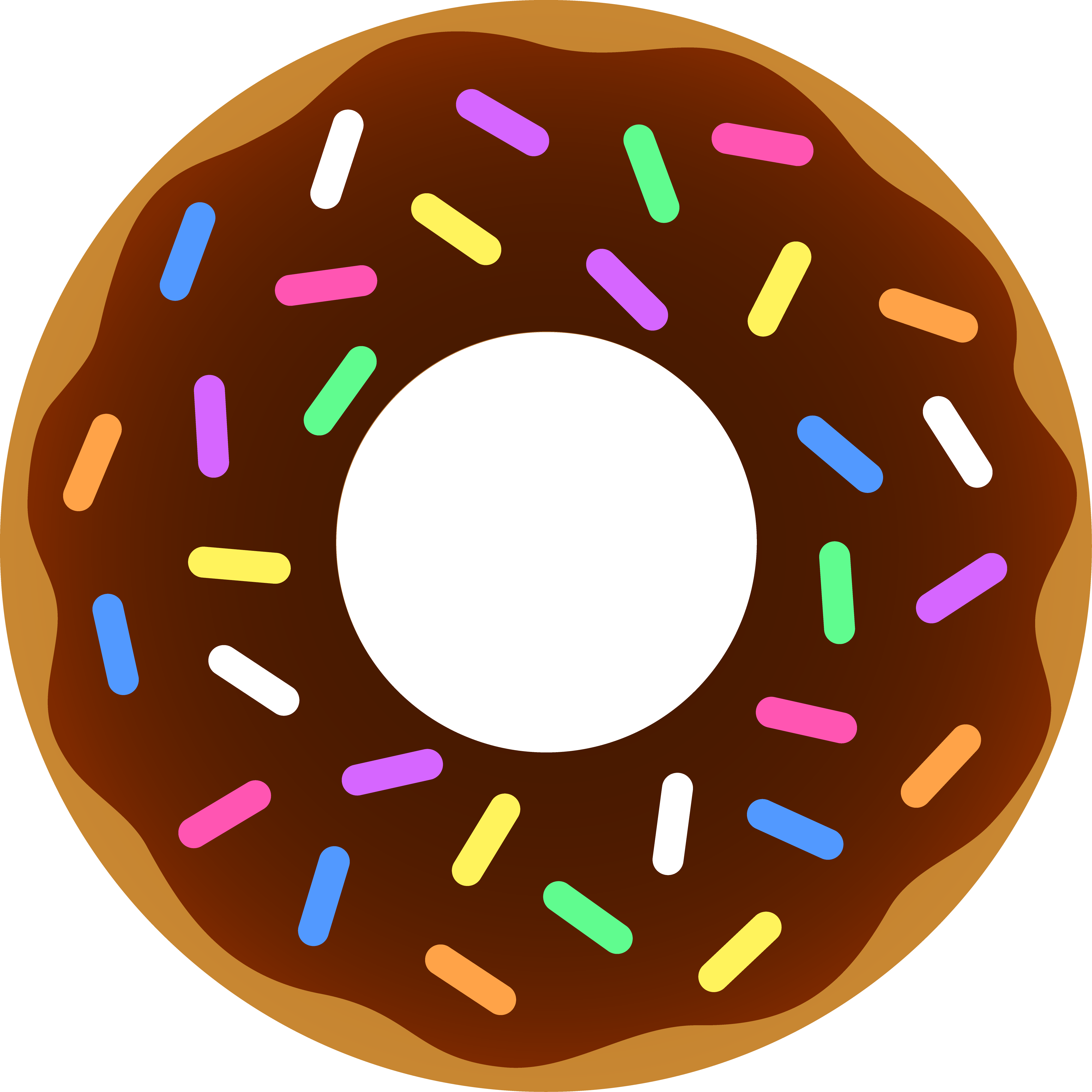 Dunkin donuts coffee and. Donut clipart clear background