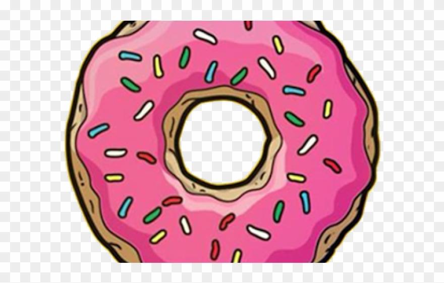 Donut clipart clear background. Transparent clip art png