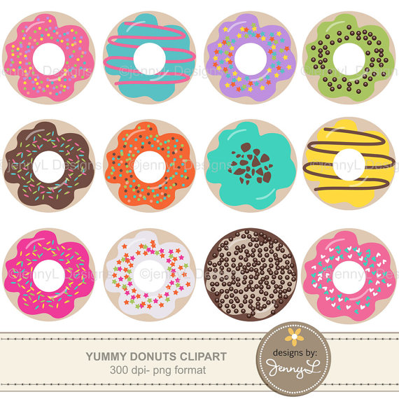 Doughnut clipart colorful. Donut sweet chocolate pink