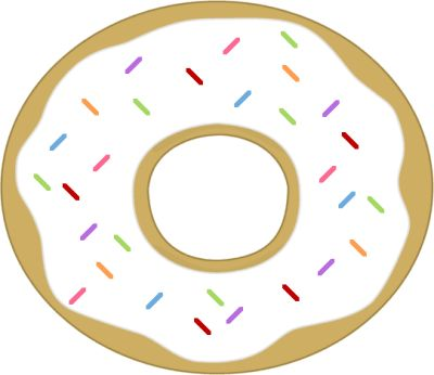Donuts free download best. Doughnut clipart colorful
