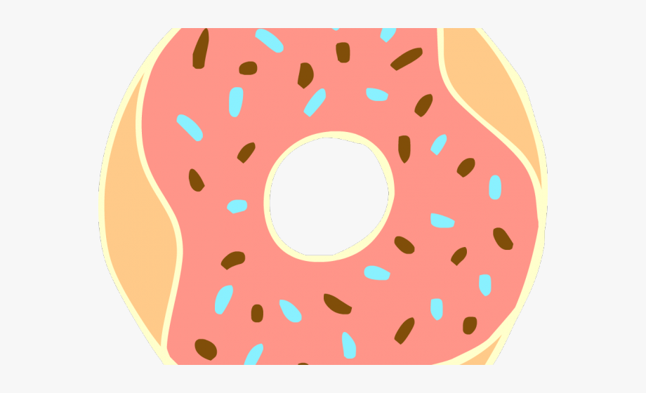 Colorful donut transparent . Doughnut clipart background free