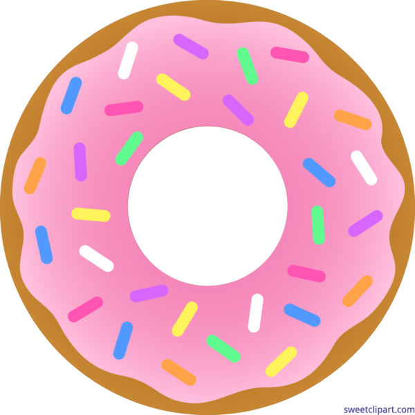 All clip art archives. Donut clipart cute