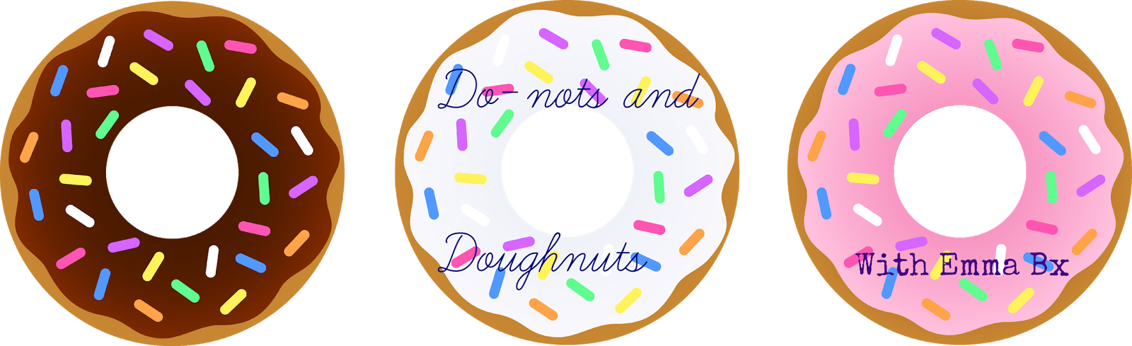 Do not s and. Donut clipart design