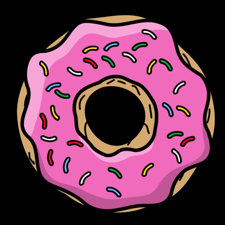 Cartoon by thegoldenbox on. Donut clipart donut cake