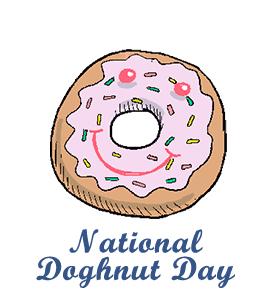 National us . Doughnut clipart donut day