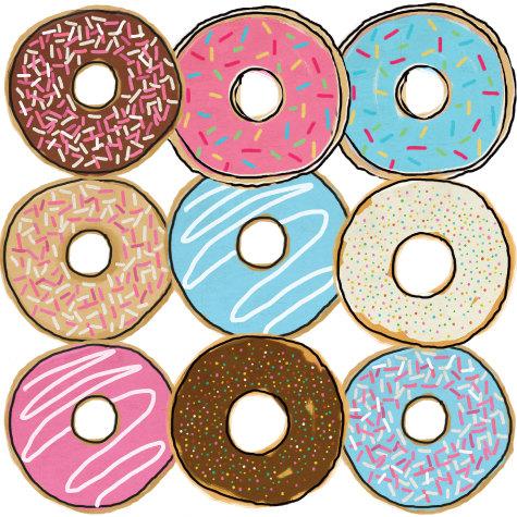 Tumblr clip art library. Donut clipart dozen