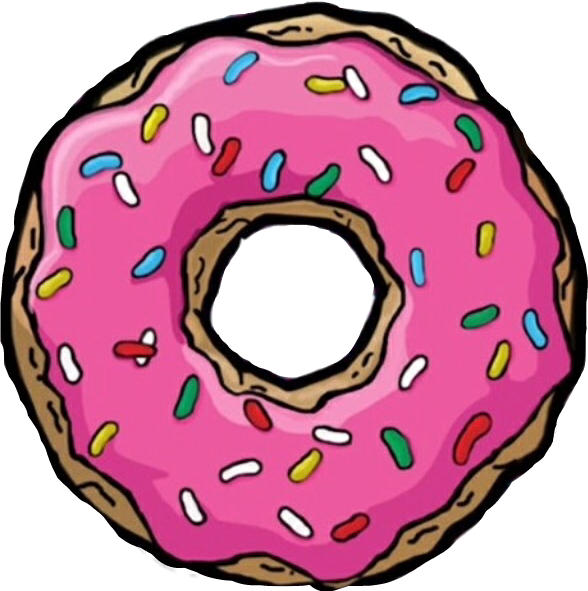 donut clipart drawing
