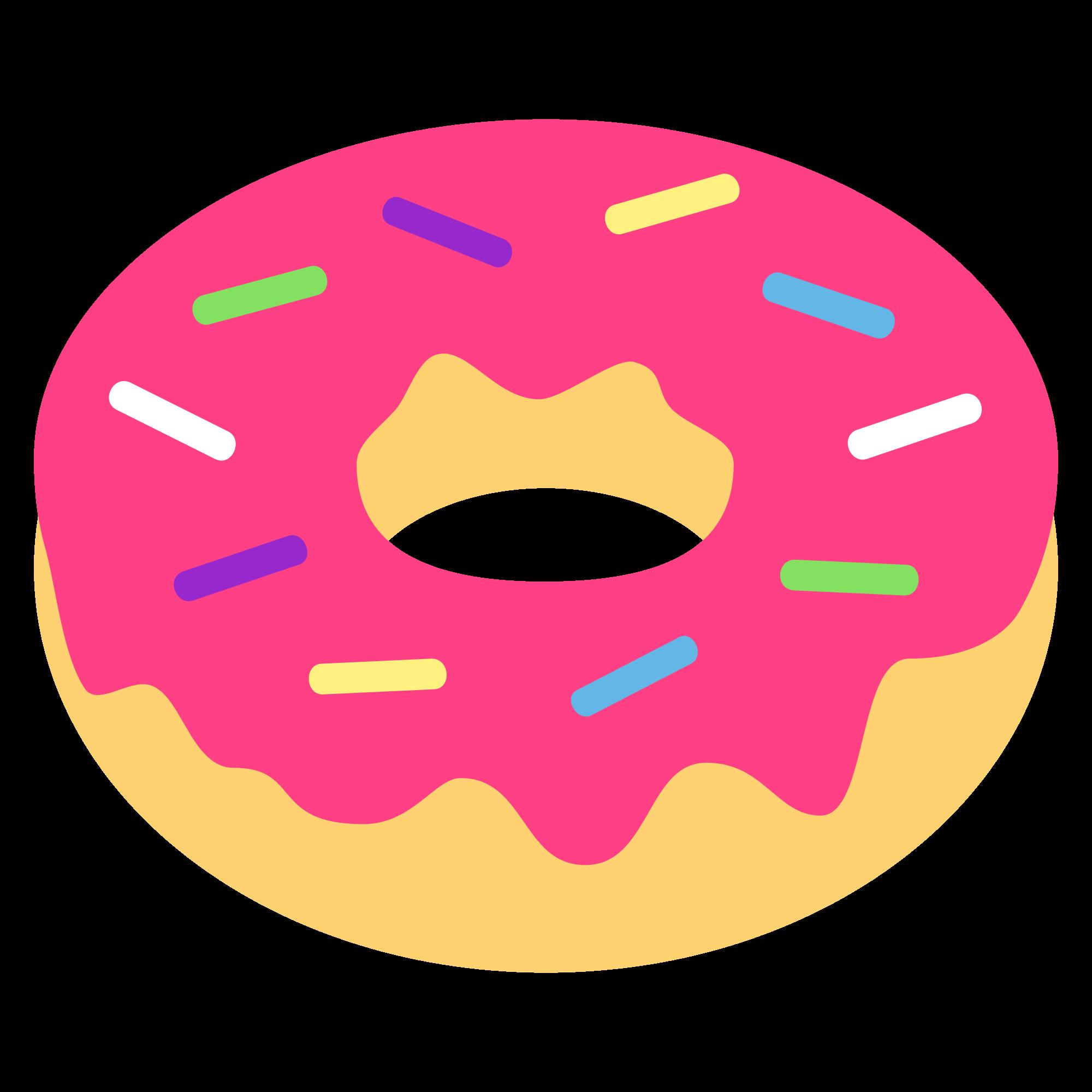 File emojione f svg. Doughnut clipart emoji