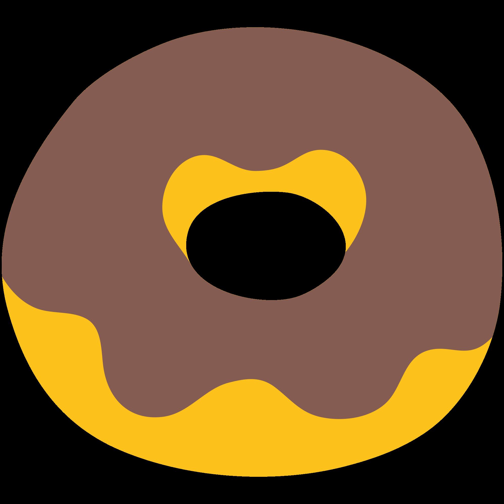 File u f svg. Doughnut clipart emoji