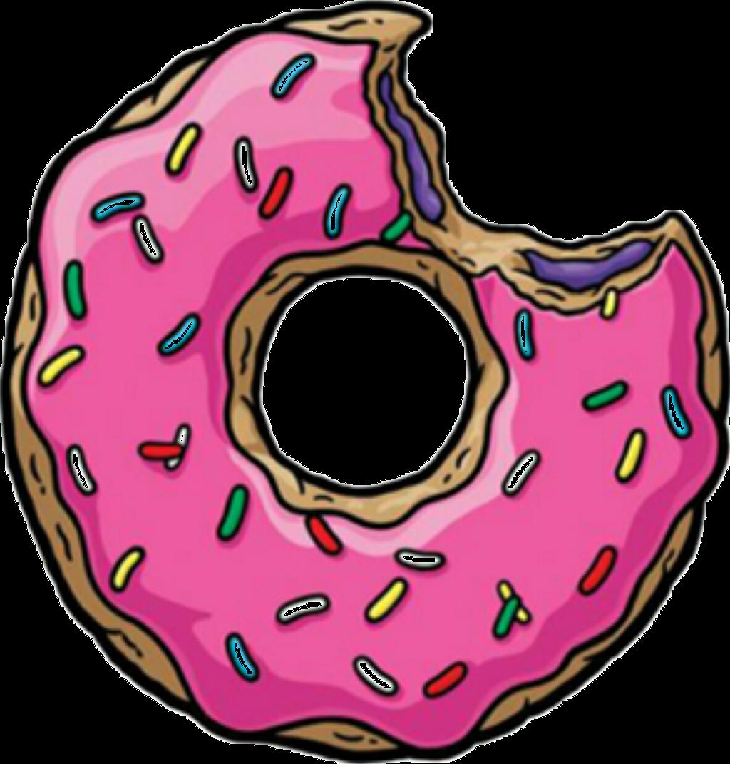Doughnut clipart emoji. Donut pink yummi cute