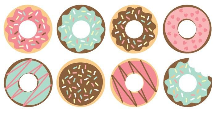 Donut clipart file. Cut files clip art