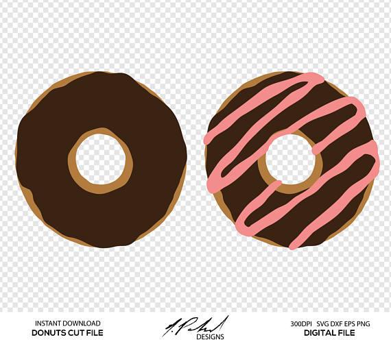 Donut clipart file. Digital cut files svg