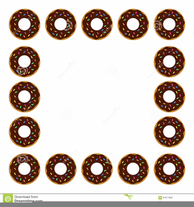 Doughnut clipart border. Donut free images at