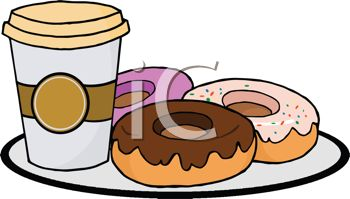 Donut clipart free coffee. Download best