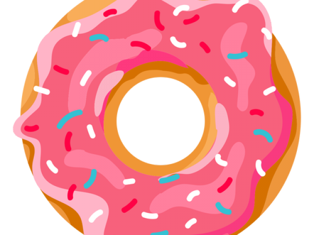 Donuts coffee and doughnuts. Donut clipart frosted