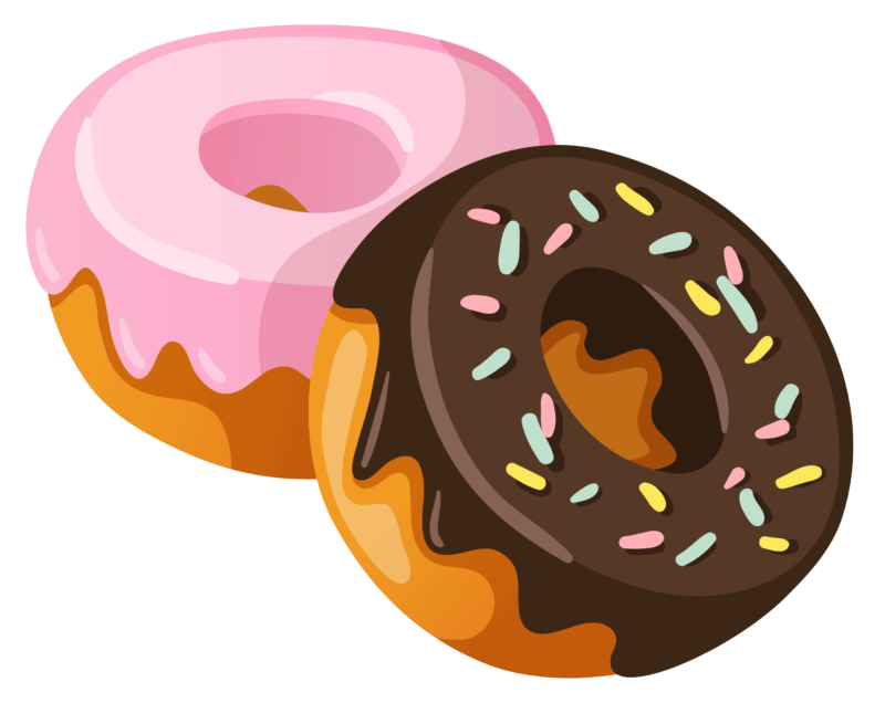 Free donuts images pictures. Donut clipart frosted