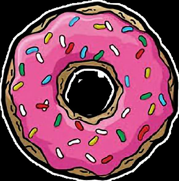 Donat tumblr png pngeditpngedit. Donut clipart gambar