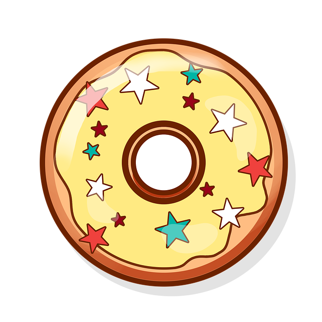 Free photo tasty icon. Donut clipart gambar