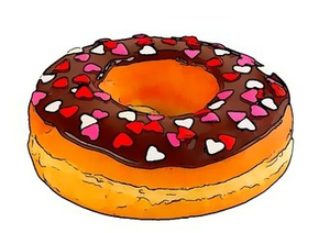 Free images at clker. Donut clipart gambar