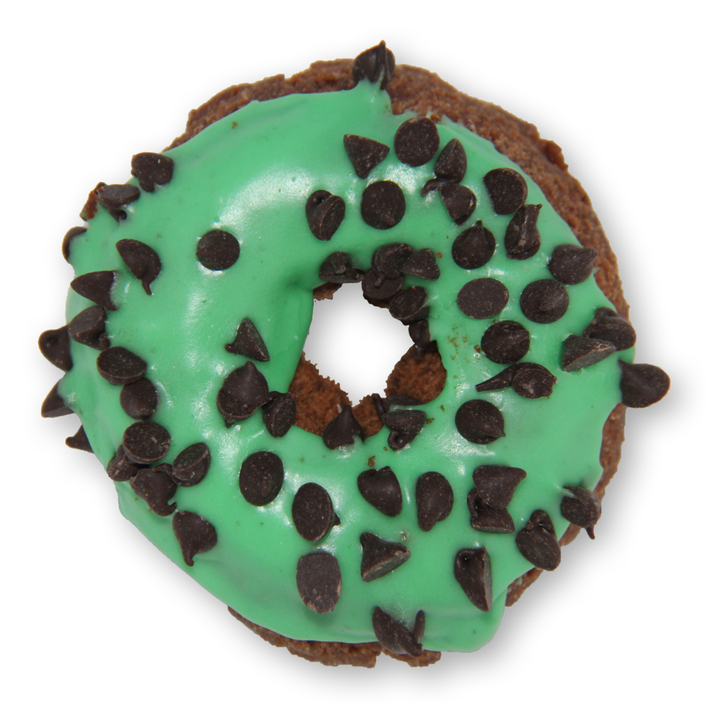 Donuts clipart green. Menu slodoco mint chocolate
