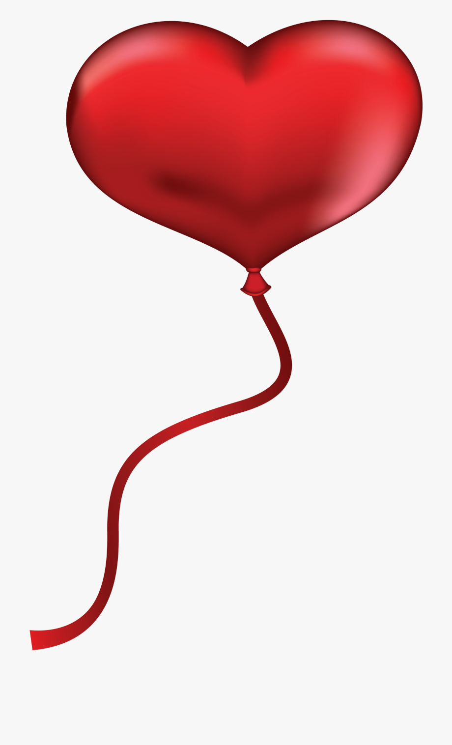 Donut clipart heart. Free party red balloon