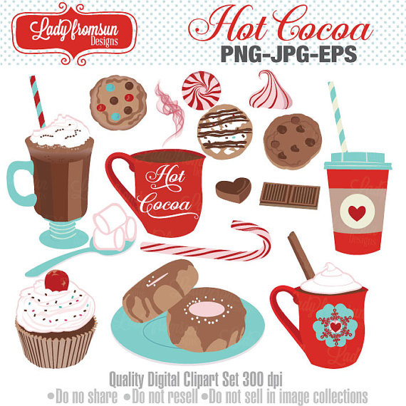 Cocoa candy cane peppermint. Donut clipart hot chocolate