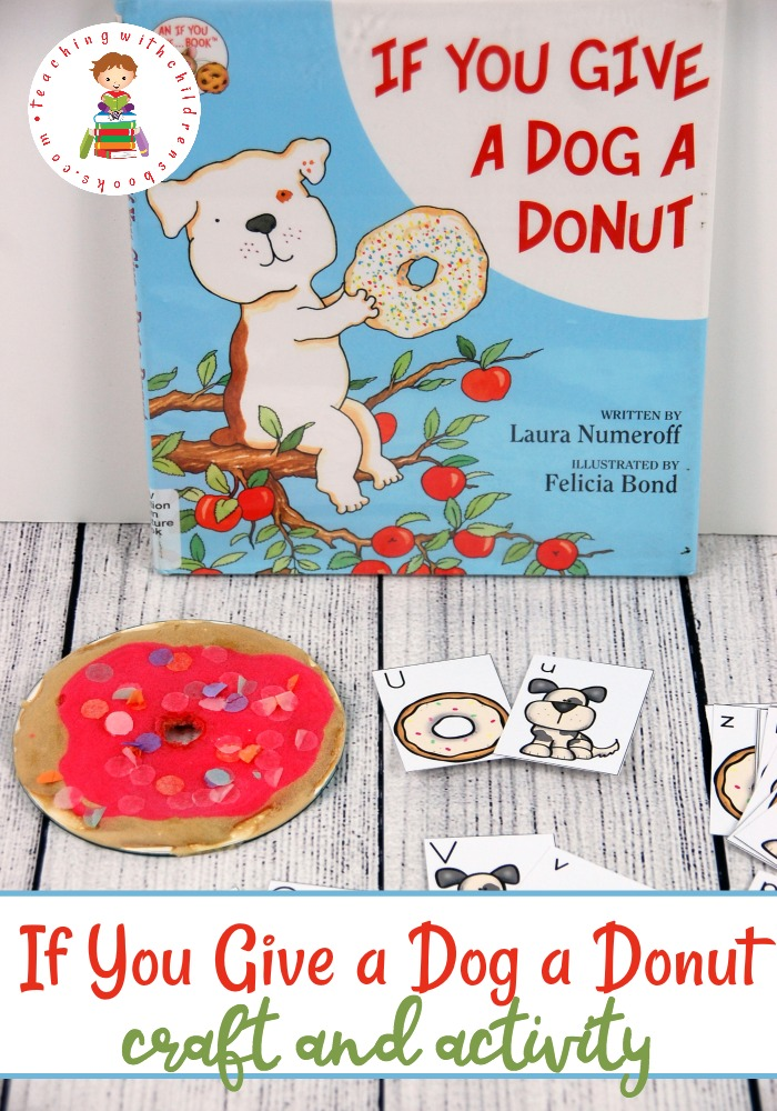 Donut clipart if you give a dog a donut. Have fun with activities