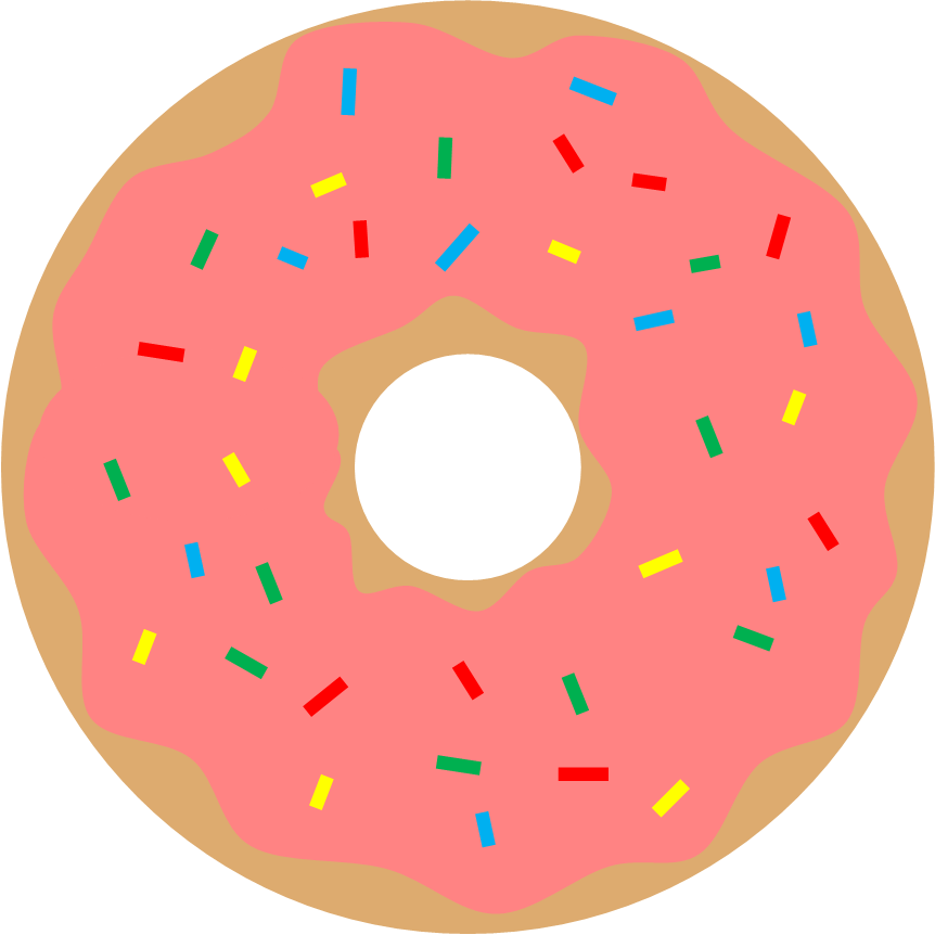 Literary hoots storytime donut. Donuts clipart green