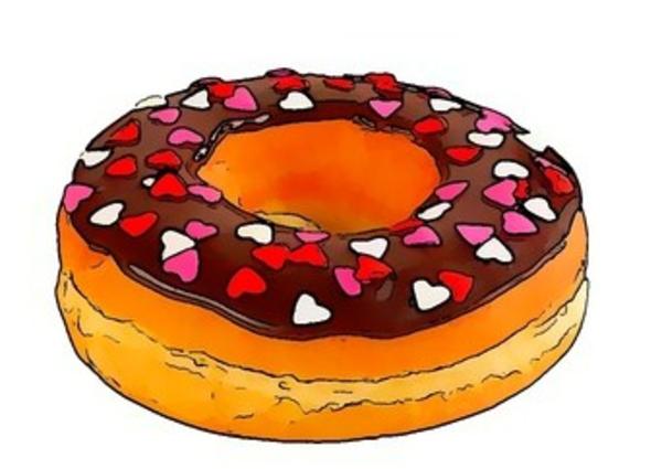 Doughnut clipart kid. Donut clipartbarn