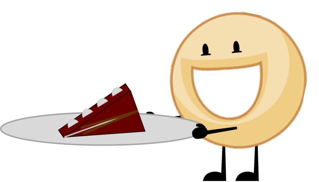 Image crossovers s cake. Donut clipart object