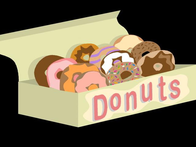 Donut clipart outline. Doughnut free on dumielauxepices